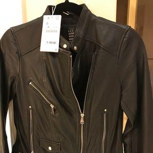 ZARA leather jacket NEW!
